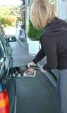 Pumping Gas Stock Photos