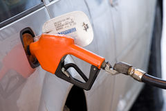 Pumping gas Stock Image