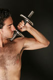 Pumping iron Stock Photography