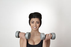 Pumping muscles Stock Photography