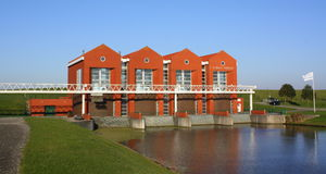 Pumping station Royalty Free Stock Images