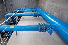 Pumping station Stock Image