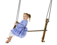 Pumping the Swing Royalty Free Stock Photography