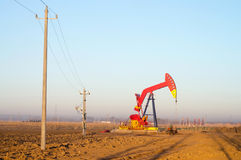 Pumping unit Stock Images