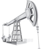Pumpjack. Realistic vector illustration of Oil pump vector illustration
