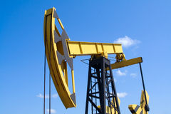 Pumpjack Foto de Stock
