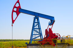 Pumpjack Photo libre de droits