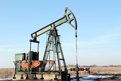 Pumpjack Stock Photography