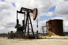 Pumpjack Stock Image