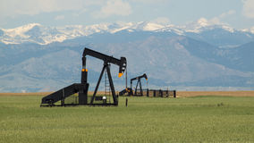 Pumpjack Royalty Free Stock Photography