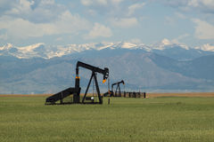 Pumpjack Royalty Free Stock Photos