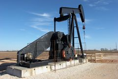 Pumpjack Foto de Stock Royalty Free