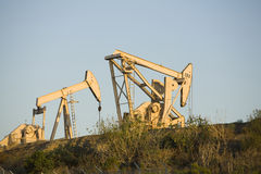 Pumpjack 9 Foto de Stock Royalty Free