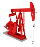 The pumpjack Royalty Free Stock Images