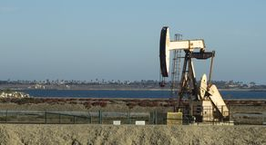 Pumpjack Oil Well Royalty Free Stock Images