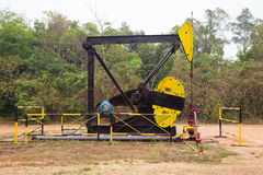 Pumpjack Royalty Free Stock Photo
