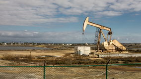 Pumpjack Oil Well Time Lapse Video stock video footage