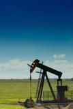 pumpjack pola Zdjęcie Stock