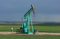 Pumpjacks in Saskatchewan Stock Photography