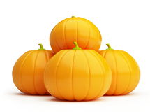 Pumpkin. It is isolated on a white background Stock Image