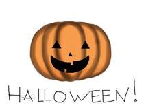 Pumpkin. Close up of funny Halloween pumpkin Stock Photos