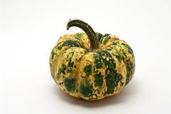 Pumpkin. Striped pumpkin on white background Stock Images