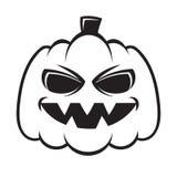 Pumpkin. Clipart or tattoo Stock Image