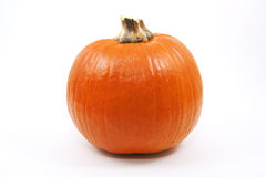 Pumpkin. Single high resolution pumpkin isolated on a white background Stock Photo