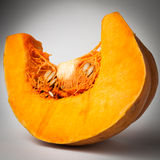 Pumpkin. Orange pumpkin isolated  on white background with clipping path Stock Photos