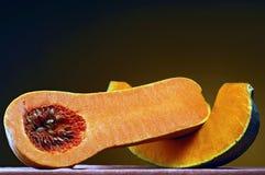 Pumpkin. Pair of pumpkin slices Royalty Free Stock Photo