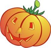 A pumpkin. The painting of halloween pumpkin Stock Photo
