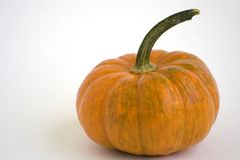 Pumpkin. Isolated pumpkin on white background Royalty Free Stock Image