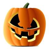 Pumpkin. Vector illustration of a pumpkin for Hallowe'en Royalty Free Stock Images