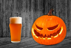 Pumpkin Ale Royalty Free Stock Image