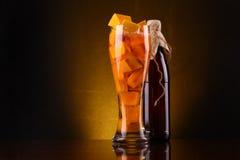 Pumpkin ale Royalty Free Stock Photo