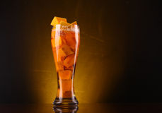 Pumpkin ale Royalty Free Stock Photography
