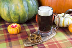 Pumpkin ale Stock Photo