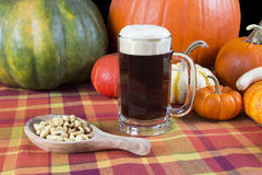 Pumpkin ale Royalty Free Stock Photos