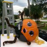 Pumpkin art Stock Photo