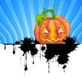 Pumpkin-background. Abstract Halloween background with pumpkin Stock Photo