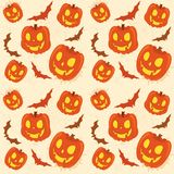 Pumpkin background Stock Photos