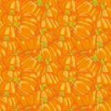 Pumpkin Background seamless pattern Stock Photo