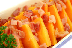 Pumpkin And Bacon Royalty Free Stock Photos