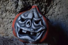 An scary symbol of Halloween Royalty Free Stock Photo