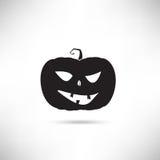 Pumpkin Black Silhouette Stock Photography