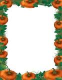 Pumpkin Border Royalty Free Stock Image