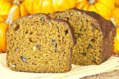 Pumpkin Bread Royalty Free Stock Images