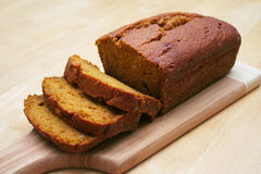 Pumpkin Bread Stock Photos