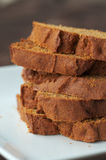 Pumpkin Bread Stock Image