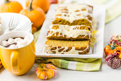 Pumpkin bread Royalty Free Stock Image